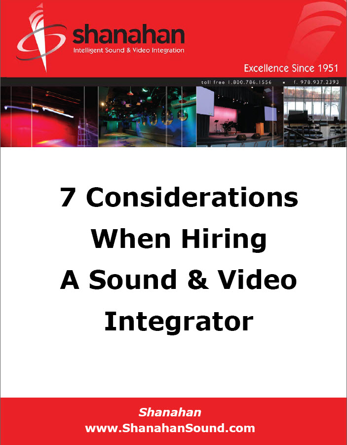 Hiring a Sound & Video Integrator White Paper