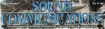 Sound Communication Magazine