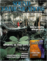 sound and communications 99 magazine cover