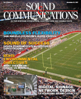 sound communications 2007 magazine cover