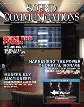 sound communications 2009 magazine cover