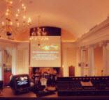 free christian church lighting sound system
